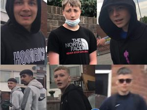 Police want to speak to these youths after a man was attacked in Great Barr