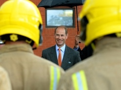 Prince Edward opens Staffordshire Fire Services new training complex