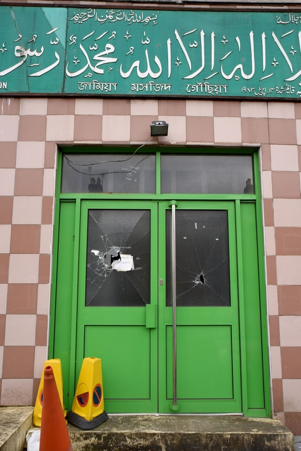 Sledgehammer vandals attack five Birmingham mosques ...