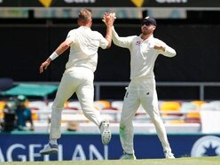 England put pressure back on Australia with three wickets before tea in Brisbane