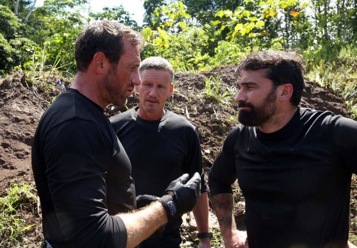 Mark 'Billy' Billingham on SAS: Who Dares Wins (Vance Jacobs/Channel 4/PA Images)