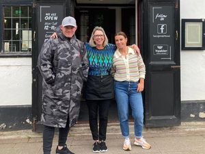 Wayne and Colleen Rooney had booked their lunch at the Bridge Inn in Brewood under the name McLaughlin