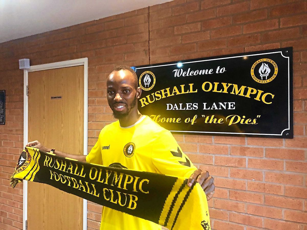 Ahmed Obeng is back at Rushall