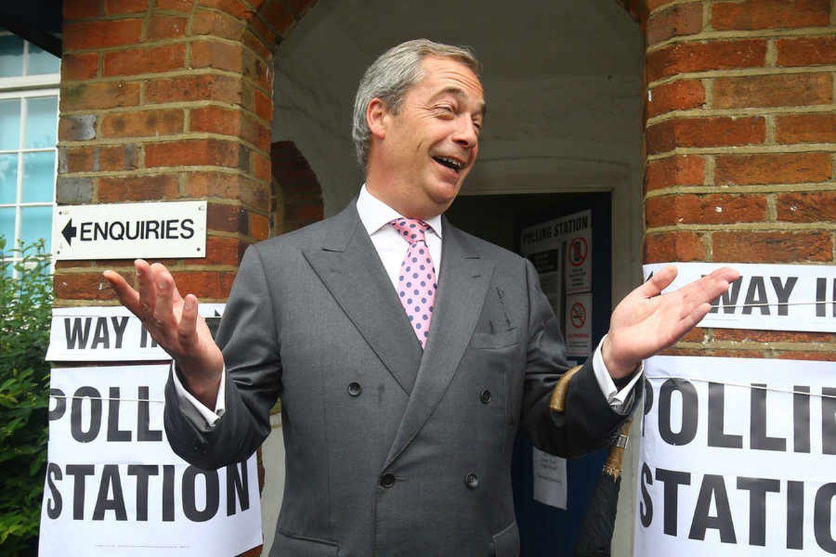 Nigel Farage: EU referendum registration extension has helped Remain vote