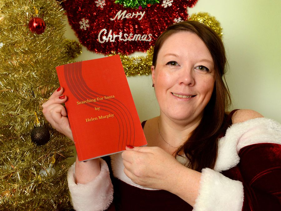 "Helen Murphy has released a new book called ""Searching for Santa"""