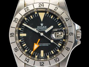 The 1973 Rolex Explorer II which sold at The Lichfield Auction Centre for £18,500 on July 5