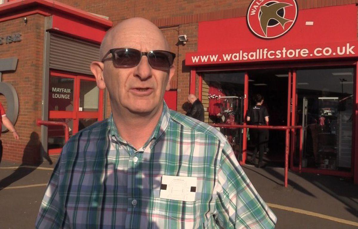 Walsall fans