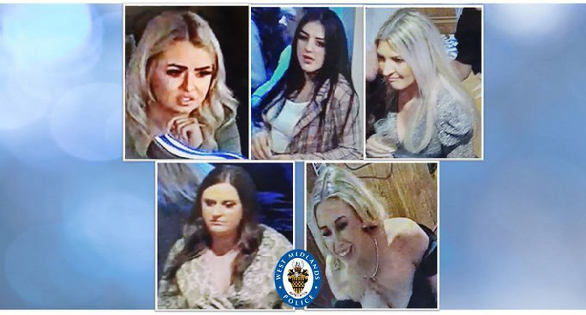 Police want to talk to these women in connection with the incident.