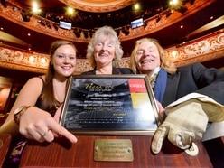 Operatic company sponsors seat at Wolverhampton Grand Theatre