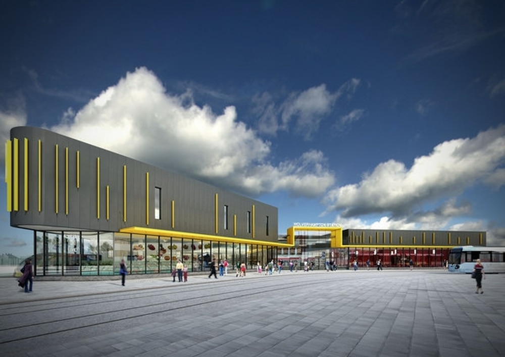 Wolverhampton interchange cost swells by 23m express star an artists impression of the revamped train station which is expected to be completed by early 2019 malvernweather Images