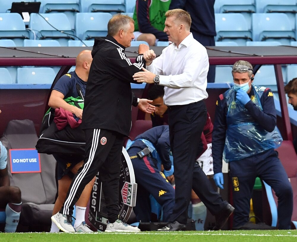 Dean Smith: Aston Villa 'got away with one'