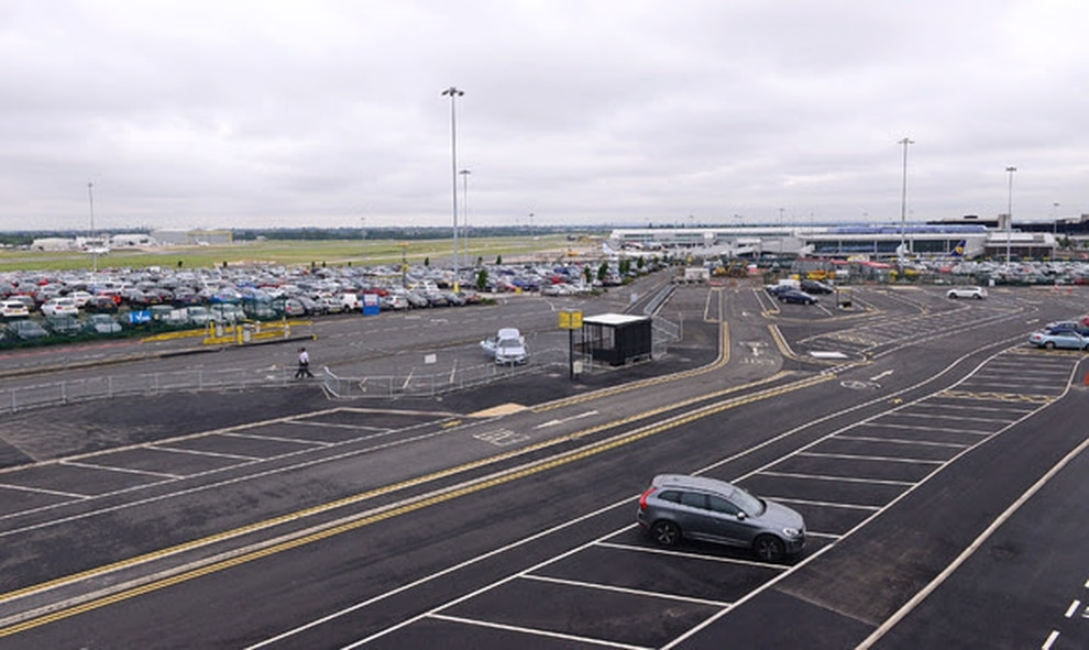 Birmingham airport in top 10 for parking costs express star the new drop off car parking area at birmingham airport m4hsunfo
