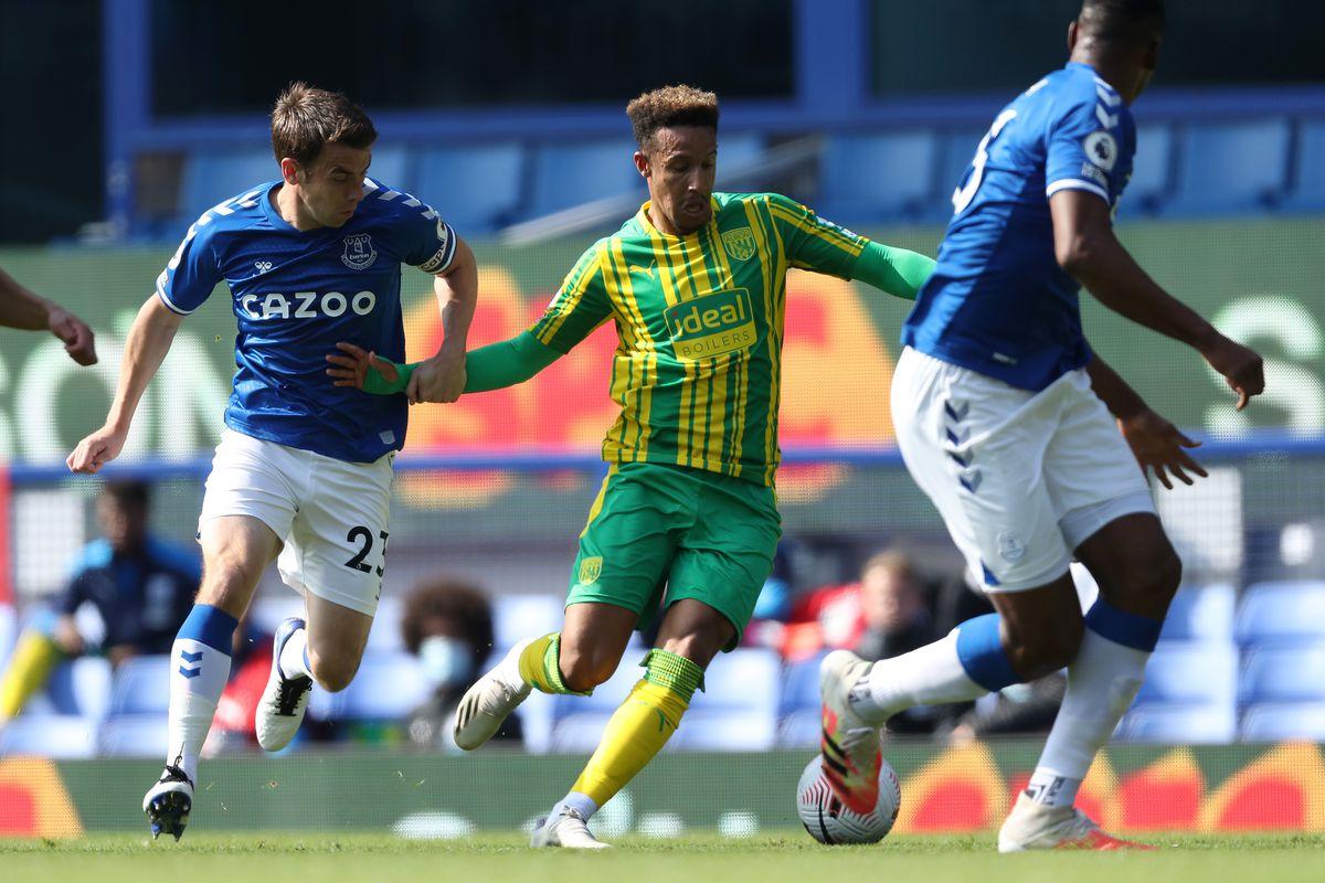 Everton v WBA match action (AMA)