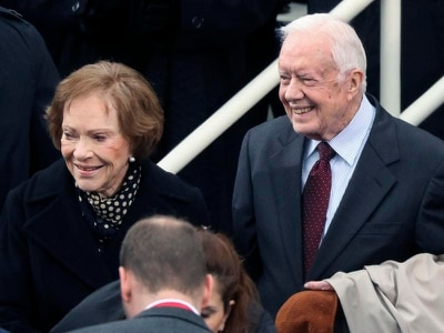 Former US president Jimmy Carter 'deathly afraid' over wife's illness
