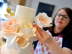 What it's like to be a wedding cake maker: Lisa really is the ace of cakes in Staffordshire