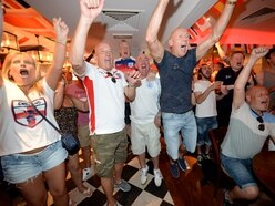 Yessss!!! WATCH fans go wild as England reach World Cup semi finals - with PICTURES