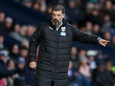West Brom boss Slaven Bilic earns Manager of the Month nomination