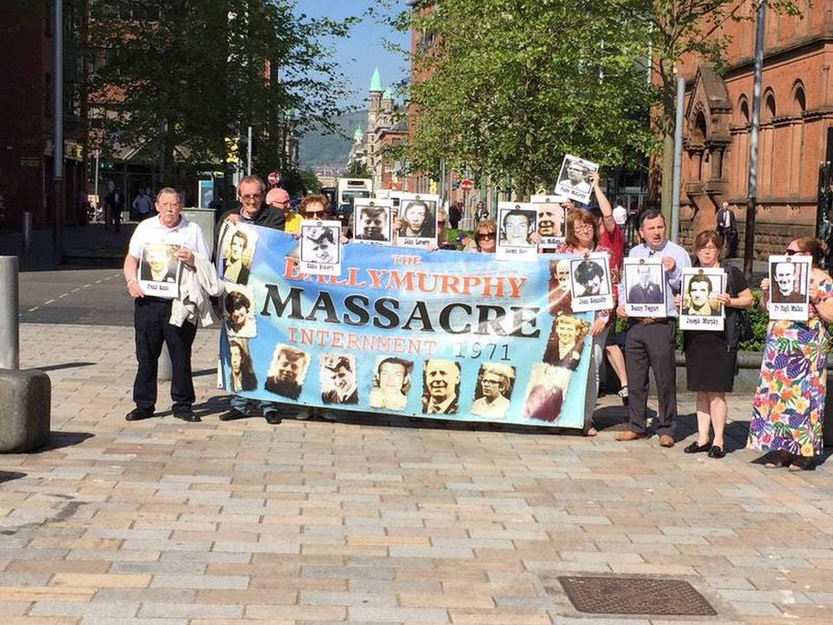Families of those killed in Ballymurphy in 1971