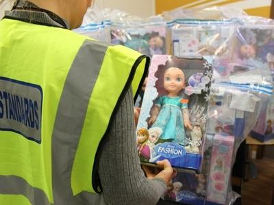 Fake Frozen toys seized in Rugeley trading standards crackdown