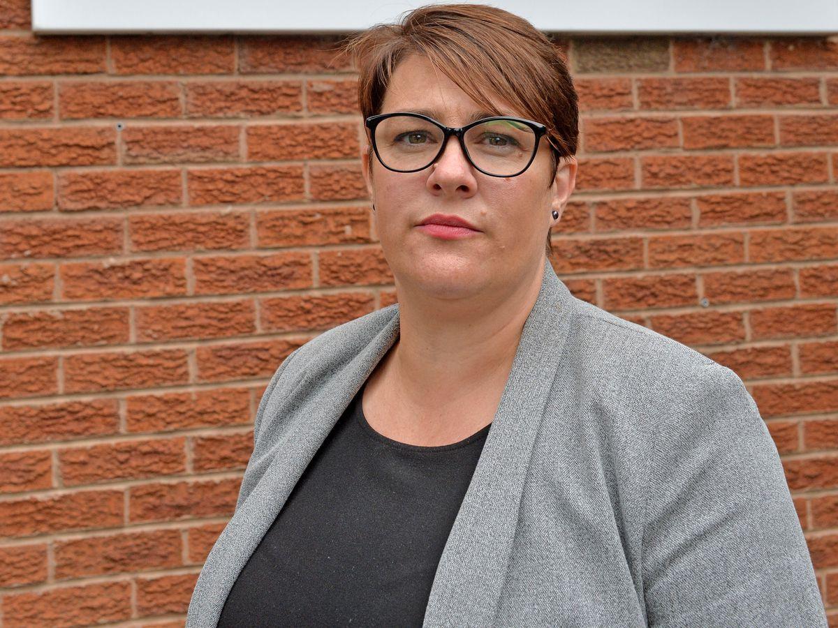 East Park Academy headteacher Hayley Guest