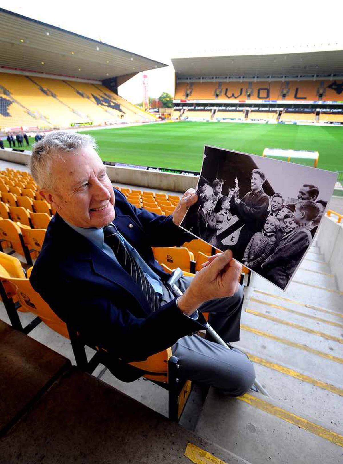 On a visit to Molineux in 2008
