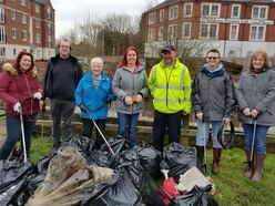 Kidderminster litter pickers branded 'heroes' after taking 60 bags of rubbish off the streets
