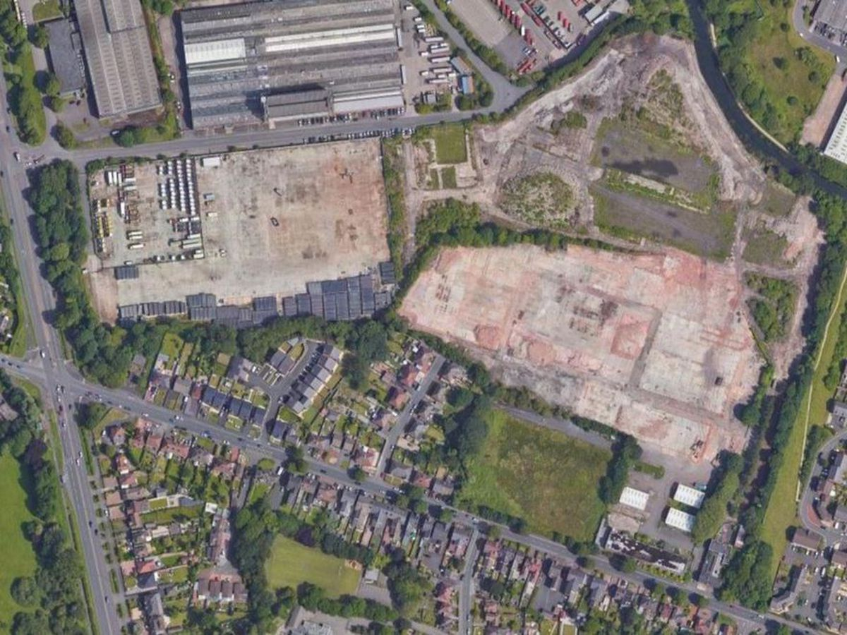 The new homes would be built on land off Birmingham New Road and Sedgley Road West on the Coseley/Tipton border. Image: Google
