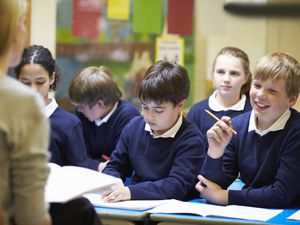 How can kids catch up in class?