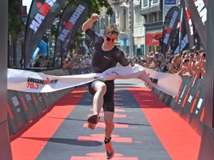 Hugh Bradshaw came home first in the gruelling event