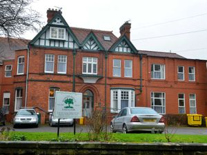 Rowley House Nursing Home in Stafford, pictured in 2017