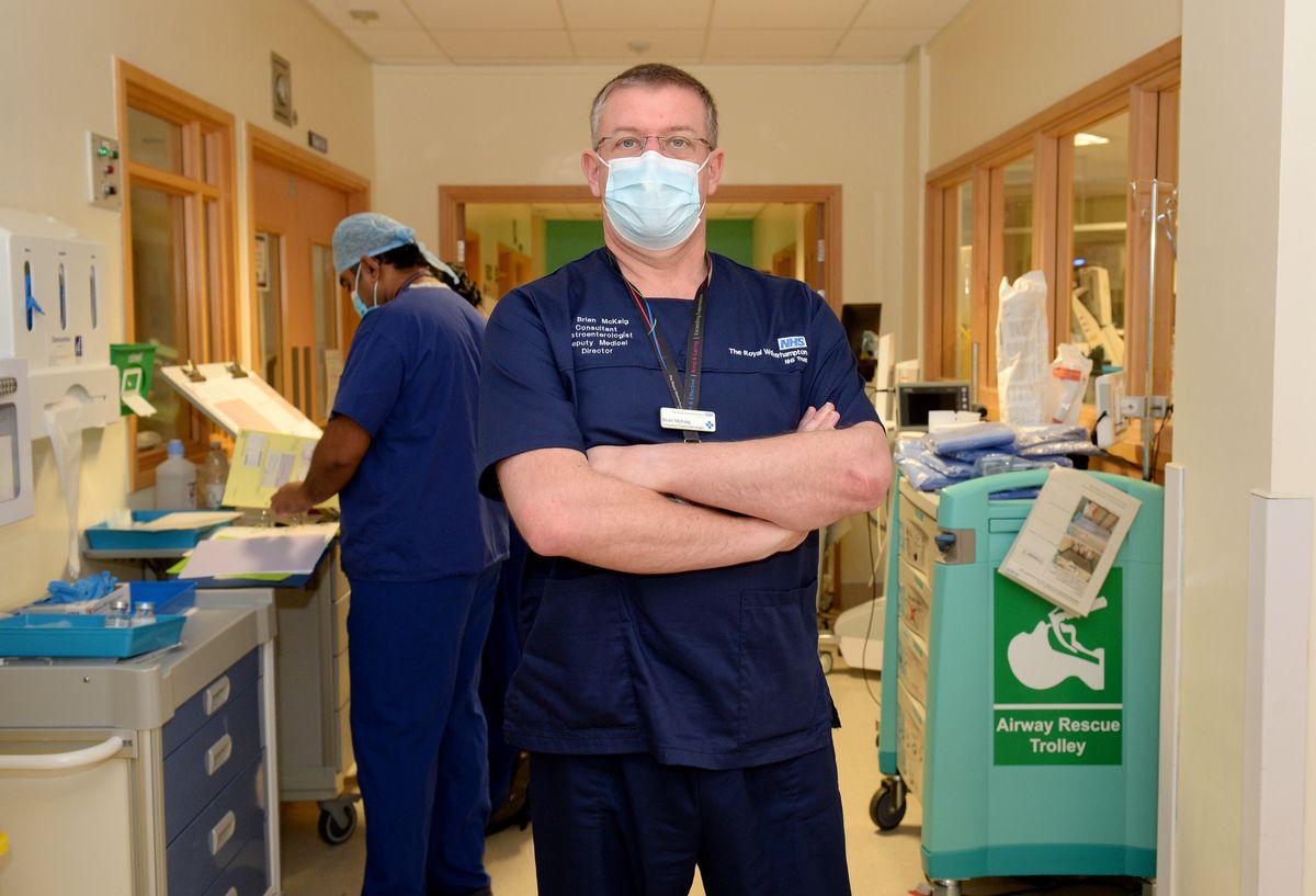 Dr Brian McKaig, deputy medical director at the Royal Wolverhampton NHS Trust, which runs New Cross