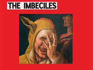 The cover for The Imbeciles' debut album