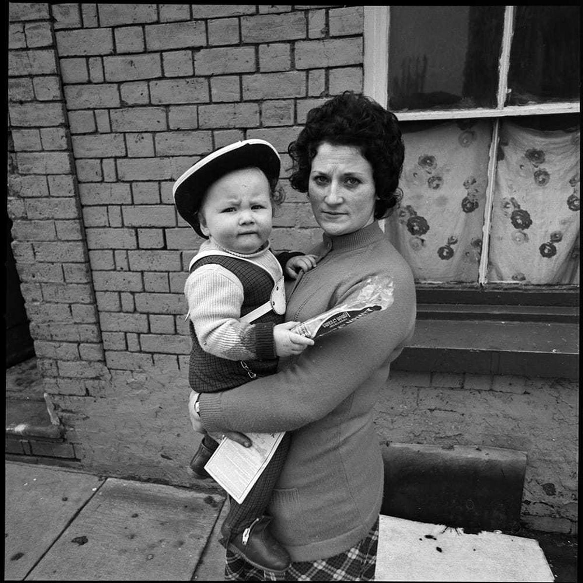A mother and child - one of George Foster's pictures of North Street in Wolverhampton