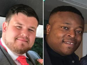 Brian McIntosh, left, and Will Henry, right