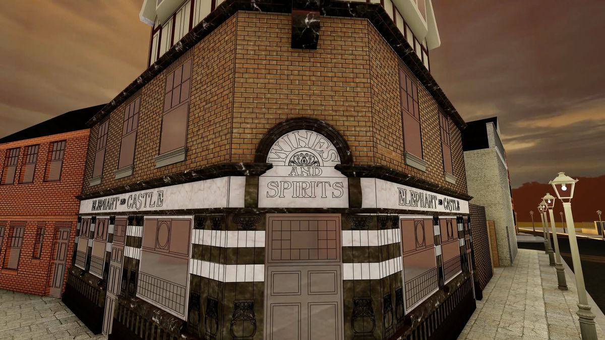 The proposed recreation of the Elephant & Castle pub, which was demolished in 2001