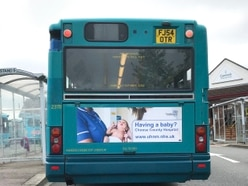 Stafford's County Hospital targets expectant mothers with bus ads