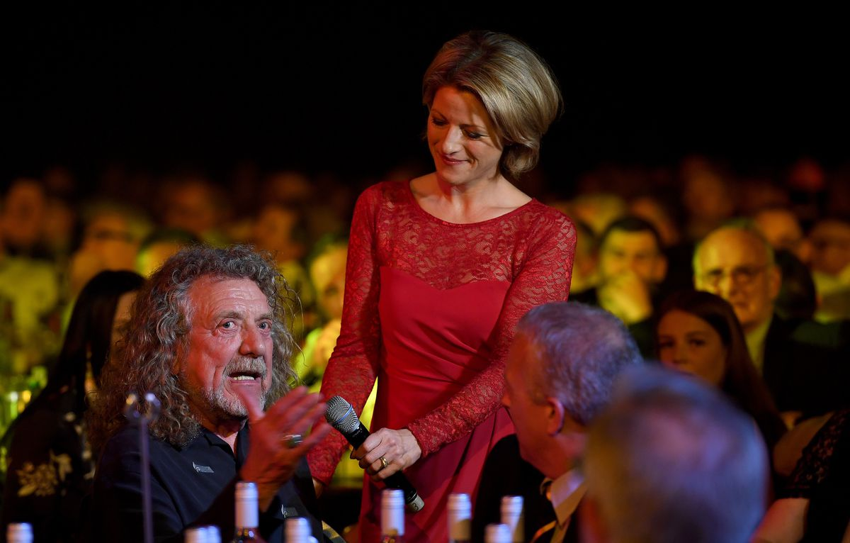Robert Plant in conversation with broadcaster Jacqui Oatley (AMA)