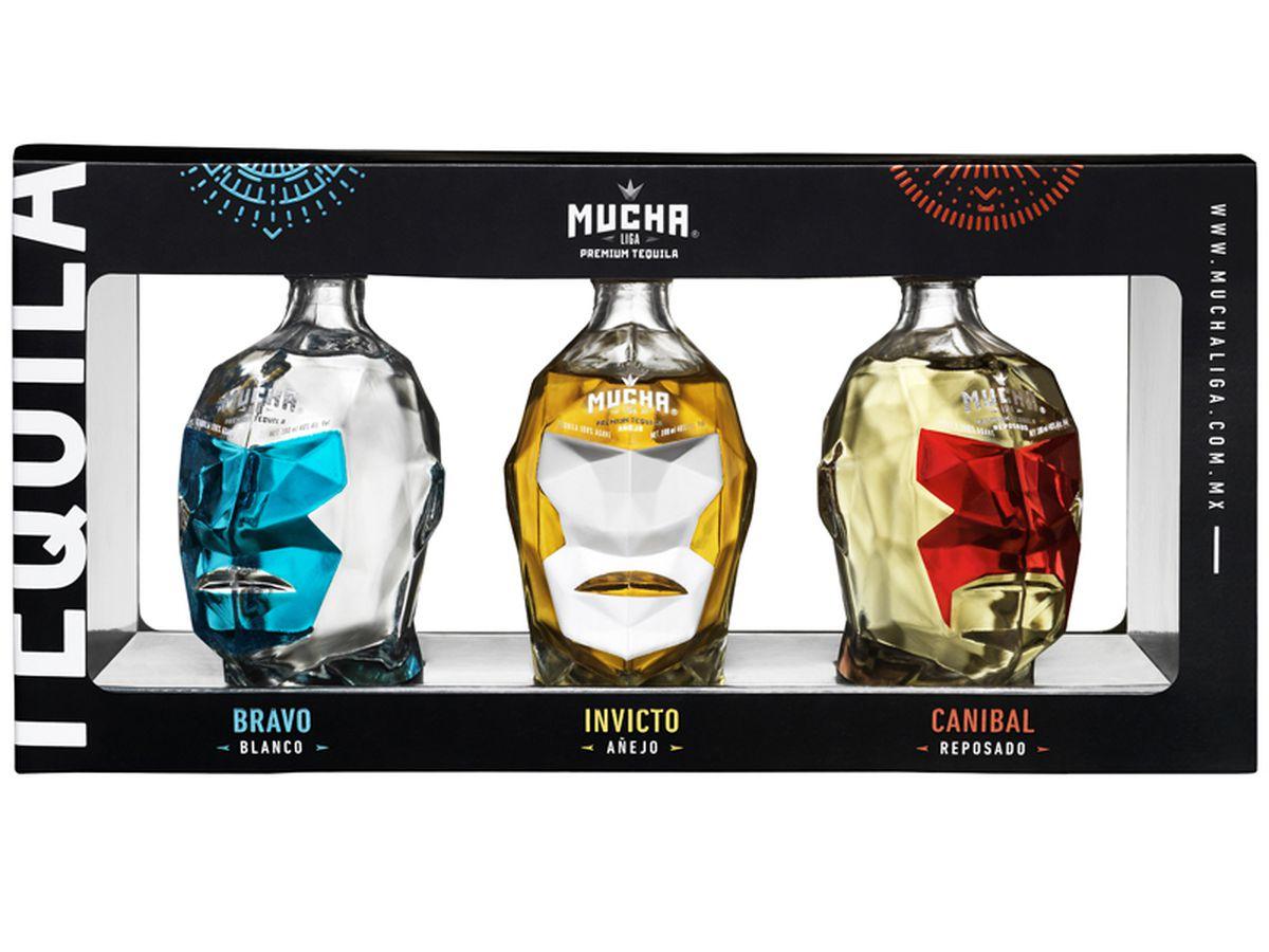 Mucha Liga Tequila Mini Gift Pack