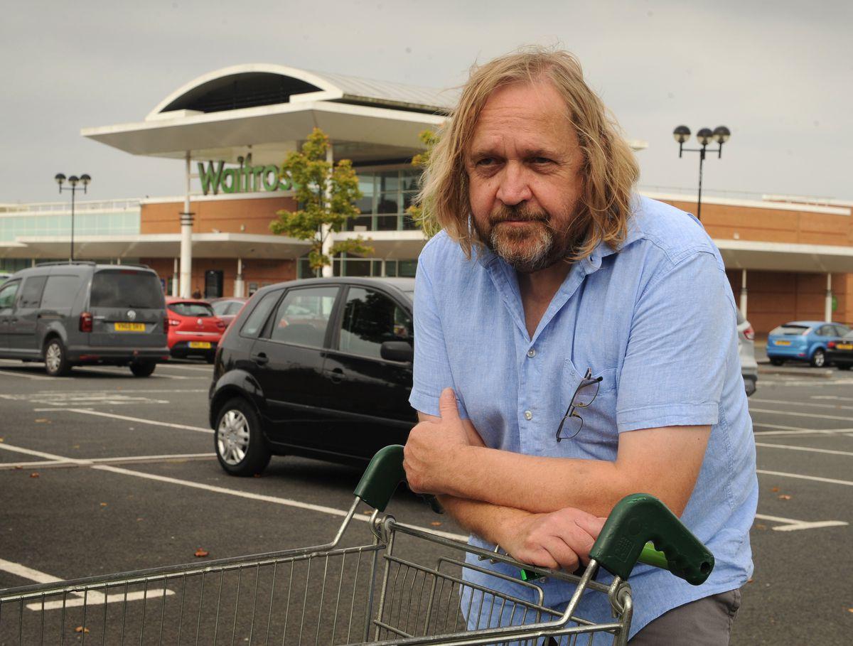 Shopper Graham Cass said he was devastated to see Waitrose close