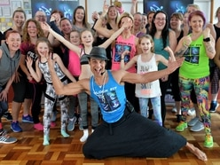 It's Chico time: X-Factor star raises heart rates at Black Country dance workshop