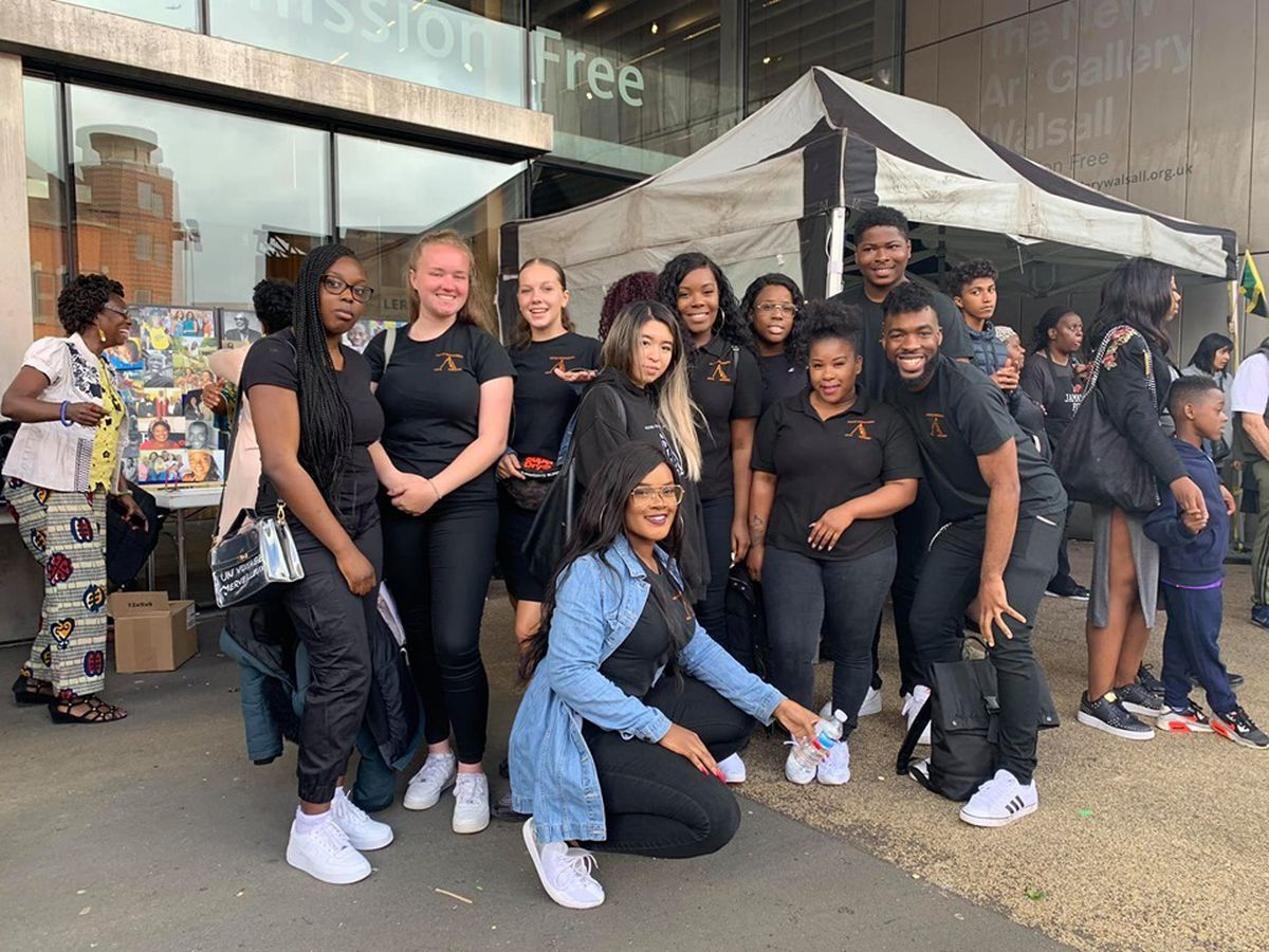 Walsall Black Sisters Collective develops projects to focus on the needs of children, youths, adults and the elderly in Walsall