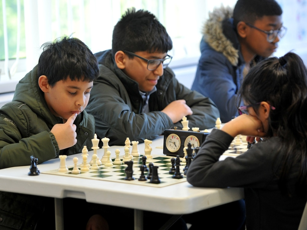 Youngsters compete in chess challenge in Walsall - in pictures