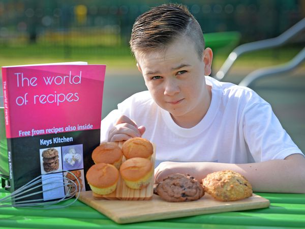 Keelan Wright, age 14, from Cannock, has written a recipe book which is going to go on sale on Amazon featuring a number of easy to make recipes and free from meals