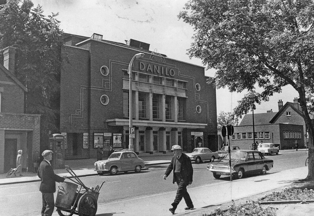 Cannock's Danilo Theatre was a centre for entertainment in the 1960s.