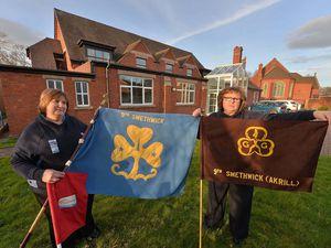 Deborah Jewell and Jayne Dean, leaders at 9th Smethwick Guides, Rainbows, Brownies and Rangers