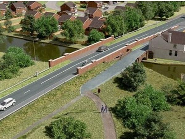 £3 million Pelsall canal bridge plan hit by delay