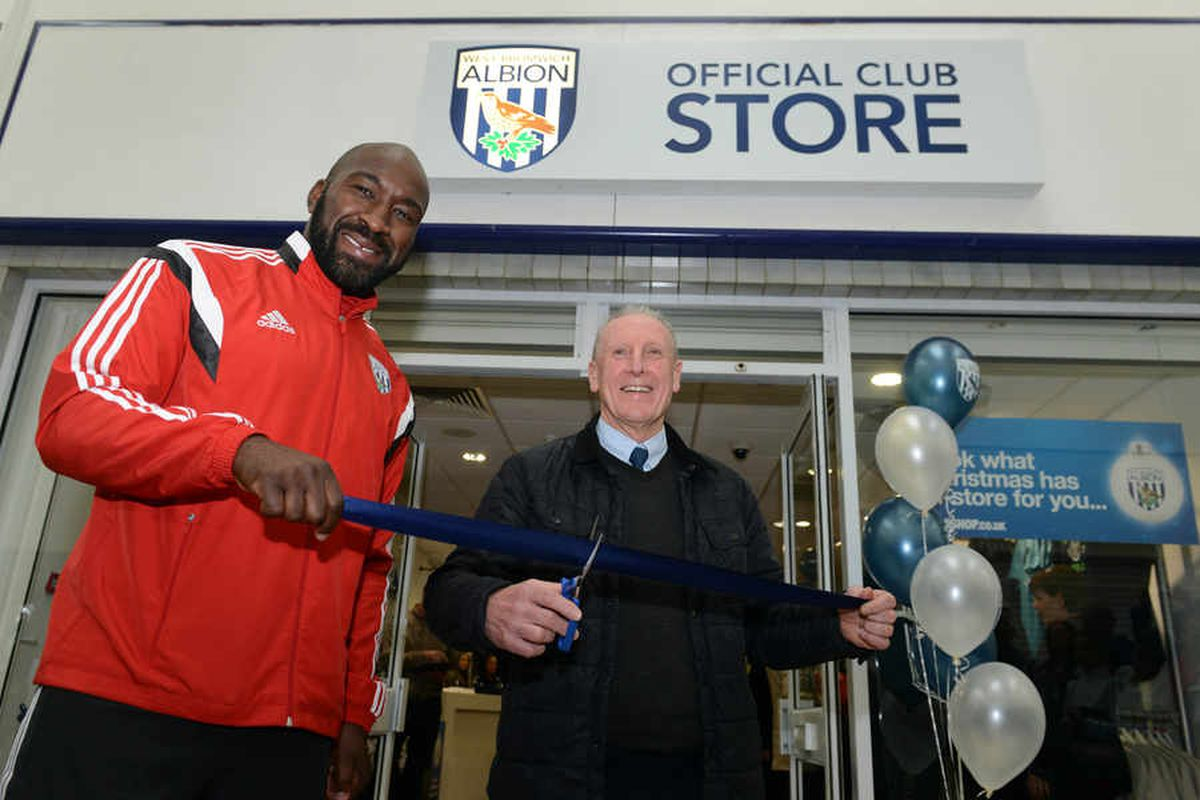 Baggies open West Brom town centre store