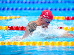 Great Britain's Adam Peaty during Heat 1 of the Mixed 4 x 100m Medley Relay at the Tokyo Aquatics Centre on the sixth day of the Tokyo 2020 Olympic Games in Japan. Picture date: Thursday July 29, 2021. PA Photo. See PA story OLYMPICS Swimming. Photo credit should read: Adam Davy/PA Wire.    RESTRICTIONS: Use subject to restrictions. Editorial use only, no  commercial use without prior consent from rights holder.