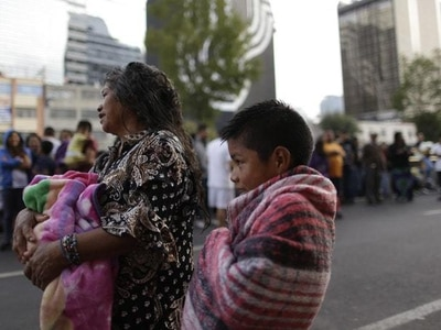 New magnitude 6.1 earthquake shakes jittery Mexico