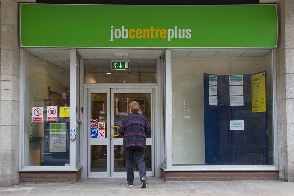 United Kingdom unemployment rate dips to new 45-year low